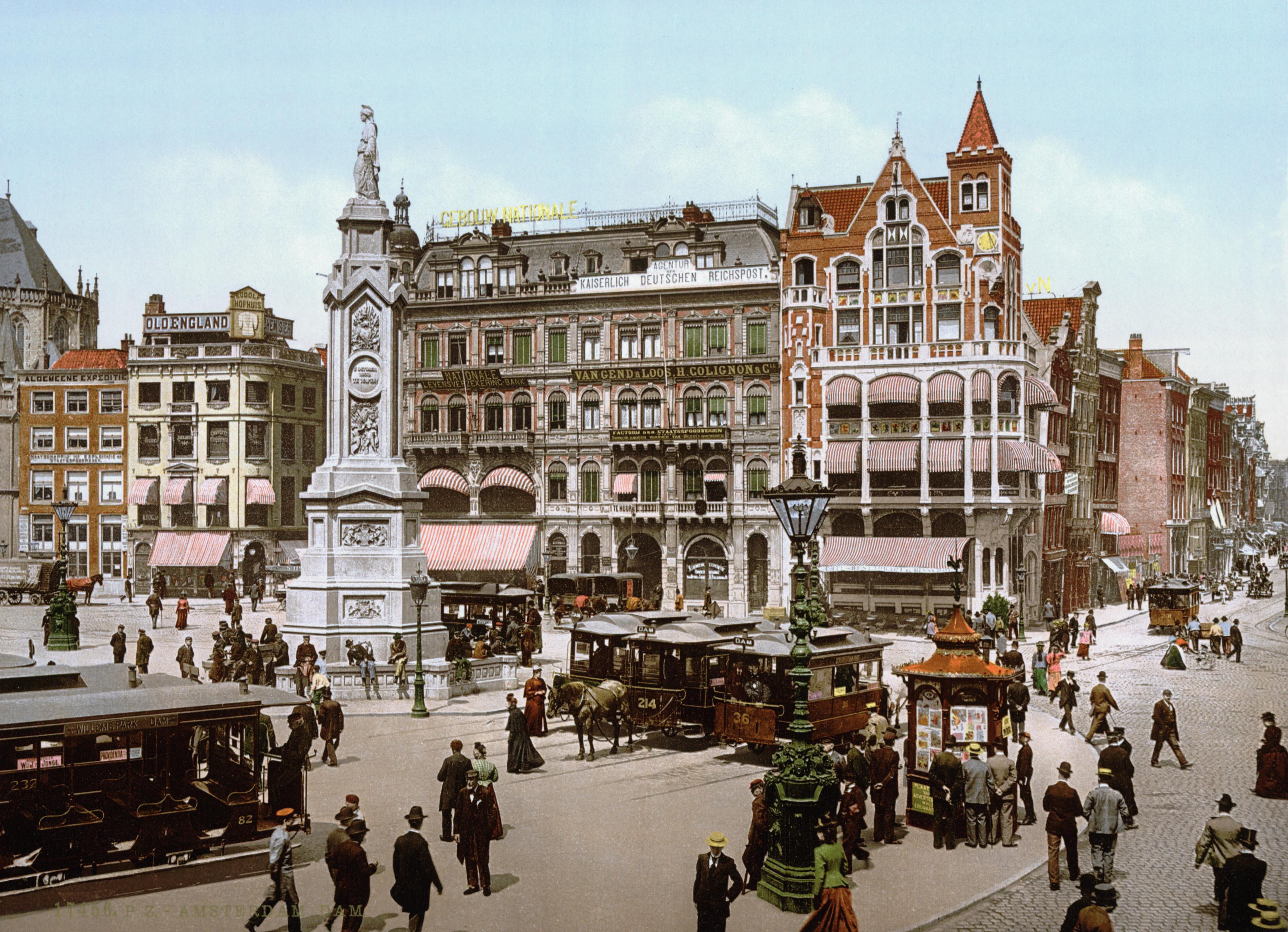 Amsterdam_-_Dam_1900