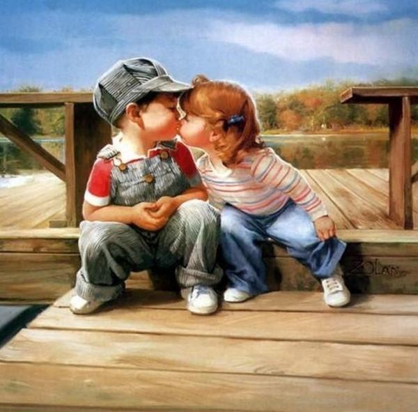 les enfants qui s'aiment